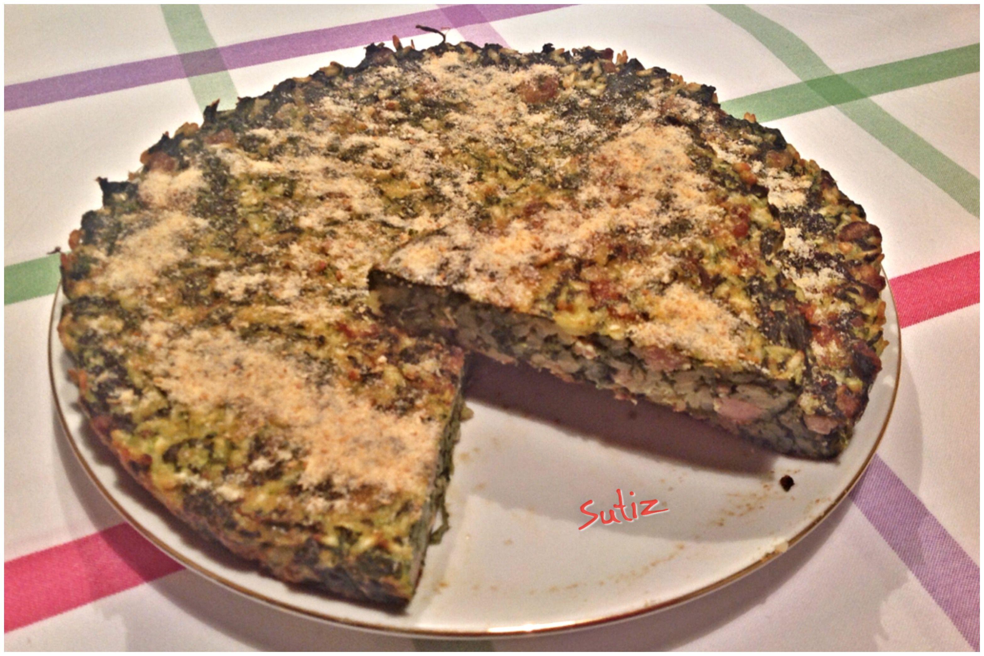 Torta di riso con spinaci e salsiccia sutiz cucinare for Cucinare 5 minuti