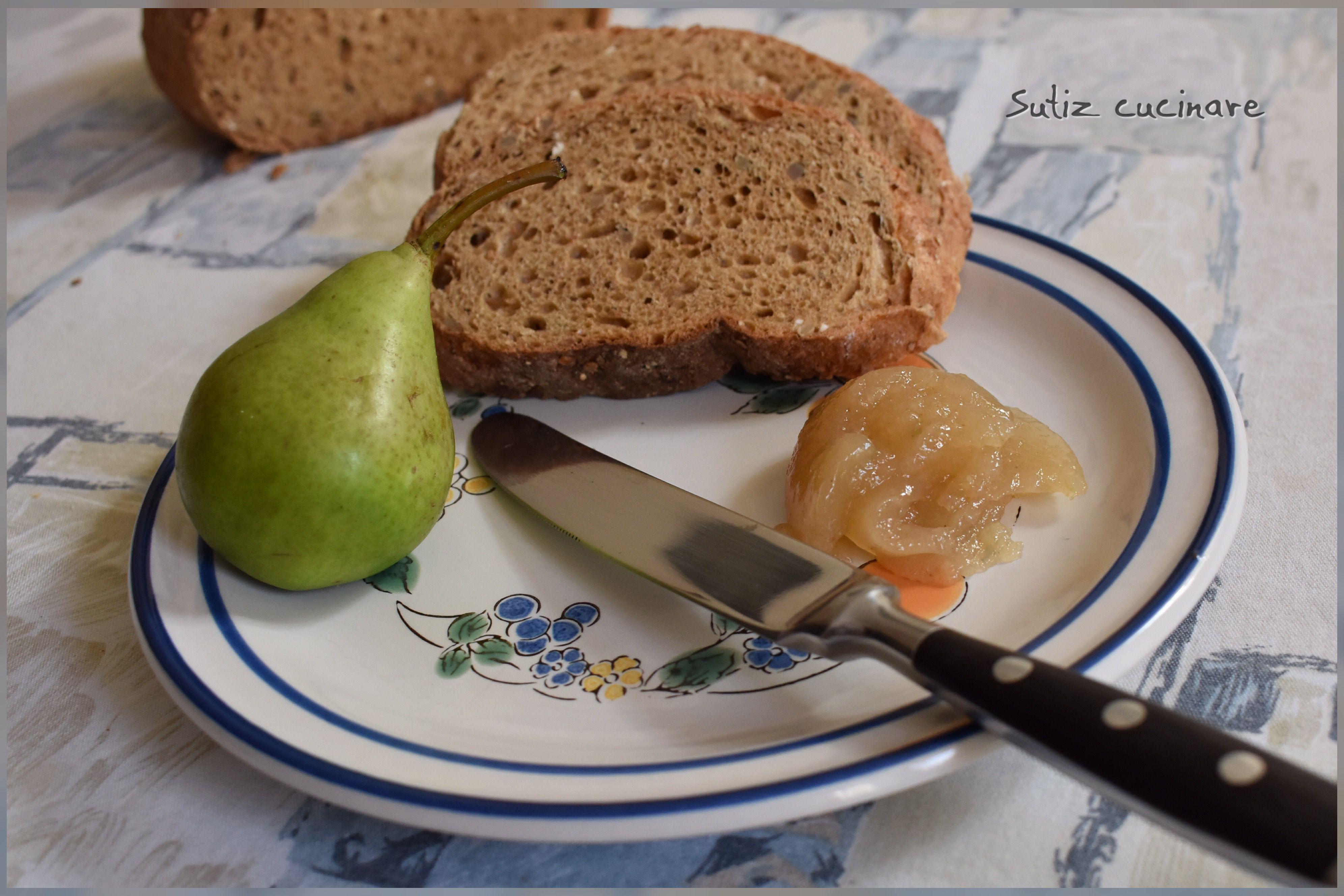 Marmellata pere e zenzero sutiz cucinare for Cucinare zenzero