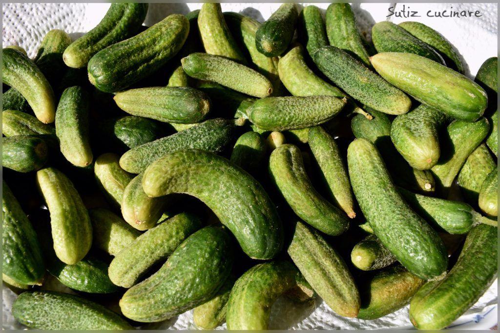Cetriolini in agrodolce sutiz cucinare for Cucinare cetrioli