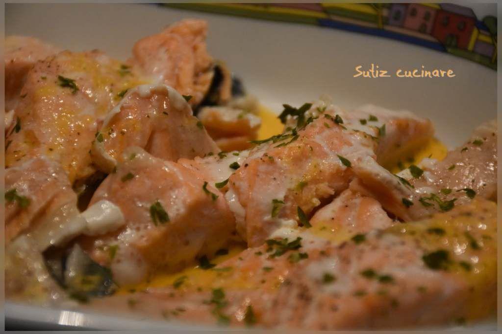 Tranci di salmone al profumo di pompelmo u sutiz cucinare